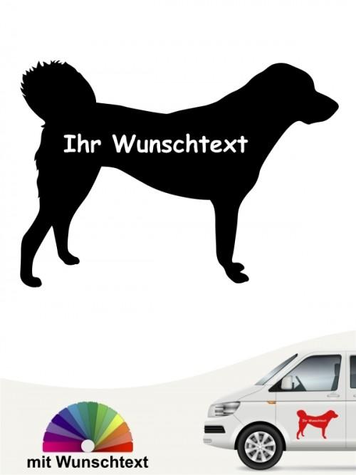 Anatolischer Hirtenhund mit Wunschtext anfalas.de