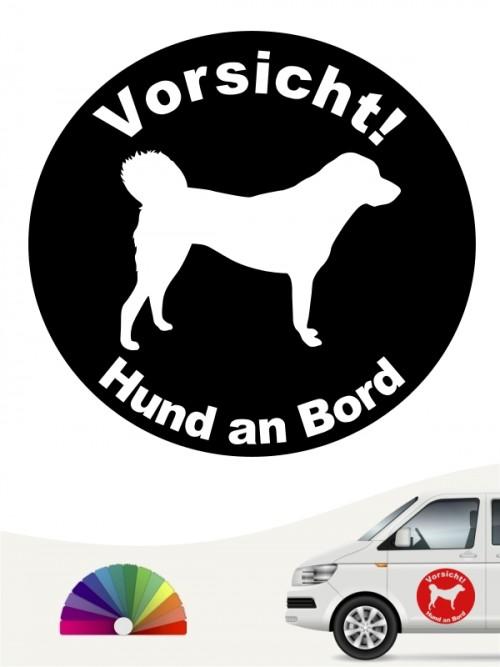 Anatolischer Hirtenhund Hund an Bord Aufkleber anfalas.de