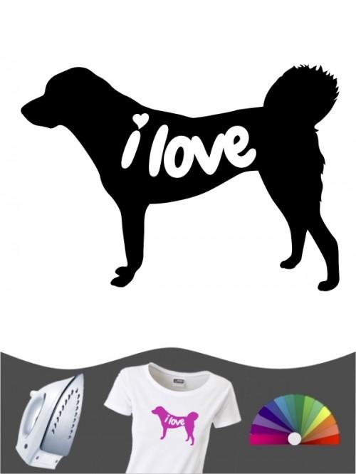 Anatolischer Hirtenhund 43 - Bügelbild
