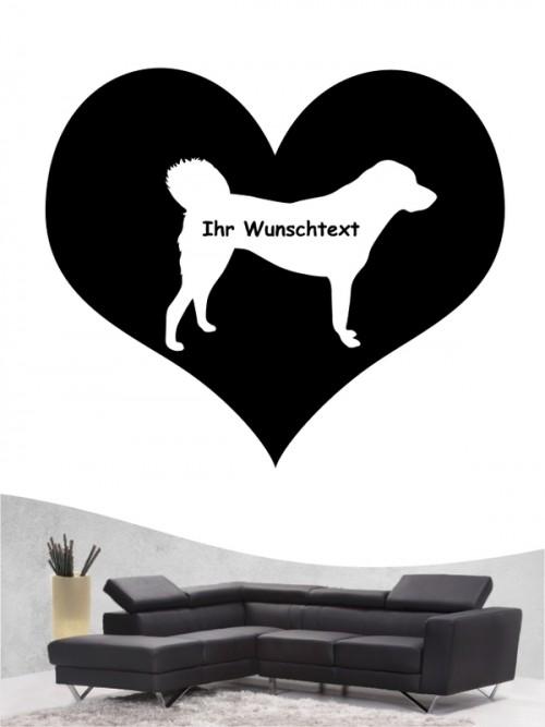Anatolischer Hirtenhund 4 - Wandtattoo