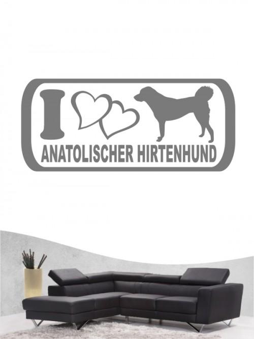 Anatolischer Hirtenhund 6 - Wandtattoo