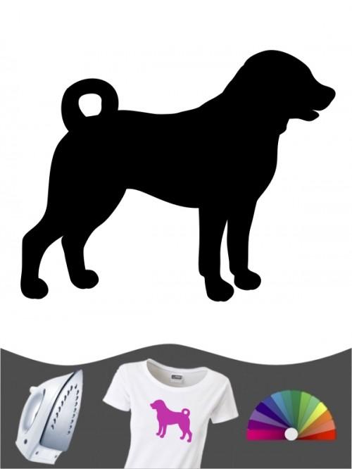 Appenzeller Sennenhund 1a Bügelbild