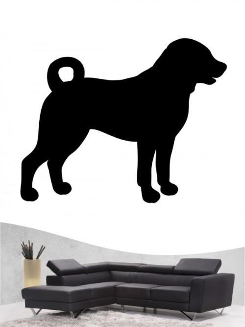 Appenzeller Sennenhund 1a Wandtattoo