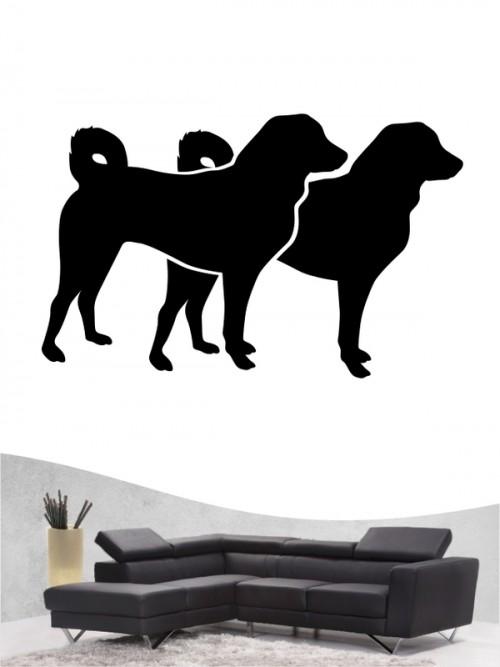 Appenzeller Sennenhund 2 Wandtattoo