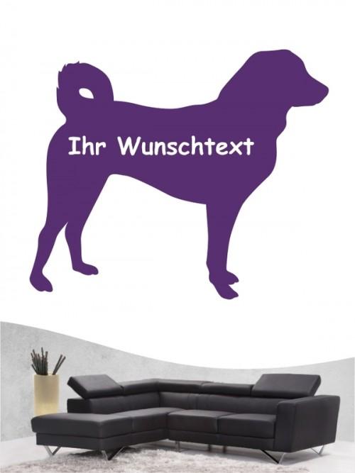 Appenzeller Sennenhund 3 Wandtattoo