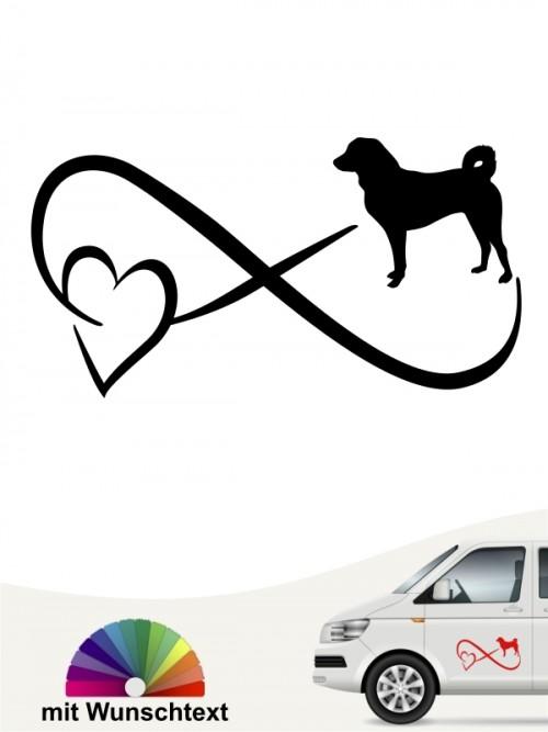 Appenzeller Sennenhund mit Wunschtext von anfalas.de