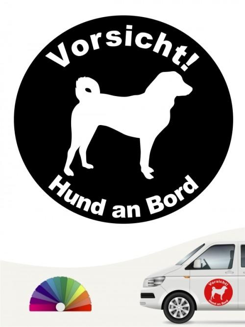 Appenzeller Sennenhund Hund an Bord Aufkleber anfalas.de