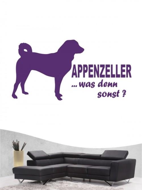Appenzeller Sennenhund 7 Wandtattoo