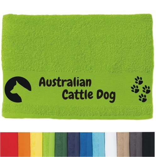 "DOG - Handtuch ""Australian Cattle Dog"" von anfalas.de"