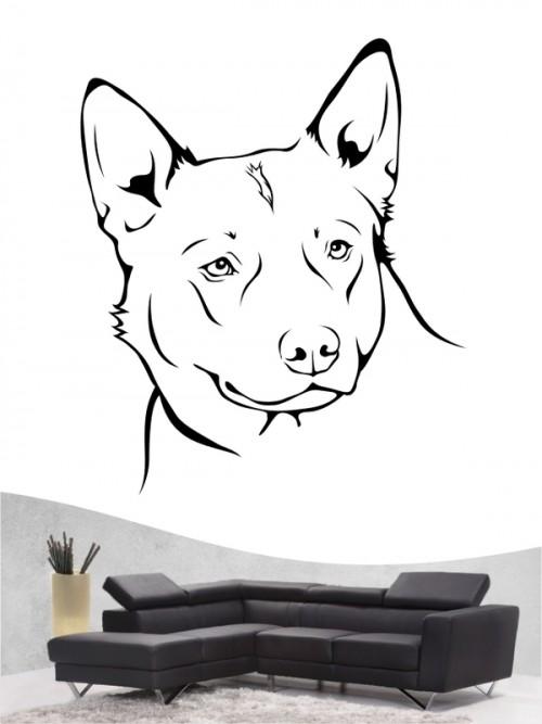 Australian Cattle Dog Hunde-Wandtattoo von Anfalas.de