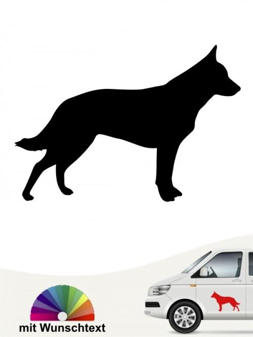 Australian Cattle Dog Aufkleber anfalas.de