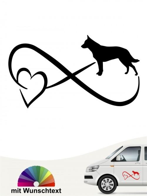 Australian Cattle Dog mit Wunschtext von anfalas.de