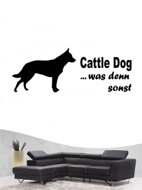 Australian Cattle Dog 7 Wandtattoo