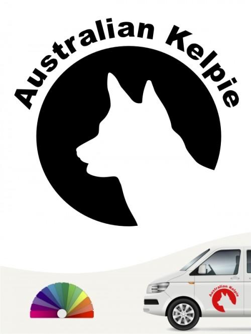 Australian Kelpie Autoaufkleber von anfalas.de