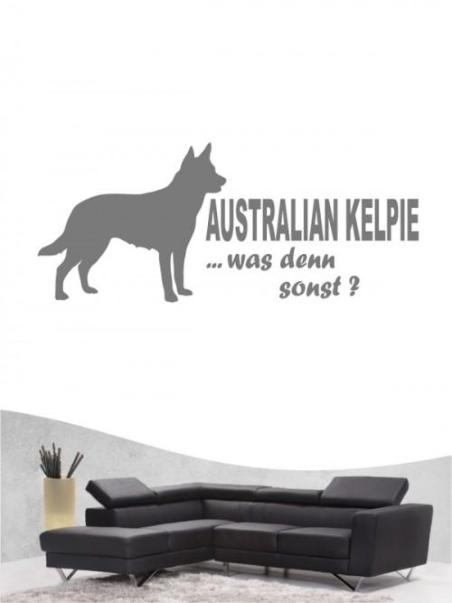 Australian Kelpie 7 - Wandtattoo