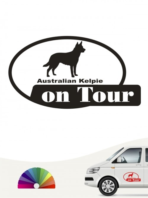 Hunde-Autoaufkleber Australian Kelpie 9 von Anfalas.de