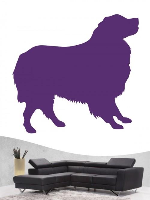 Australian Shepherd 1b Wandtattoo