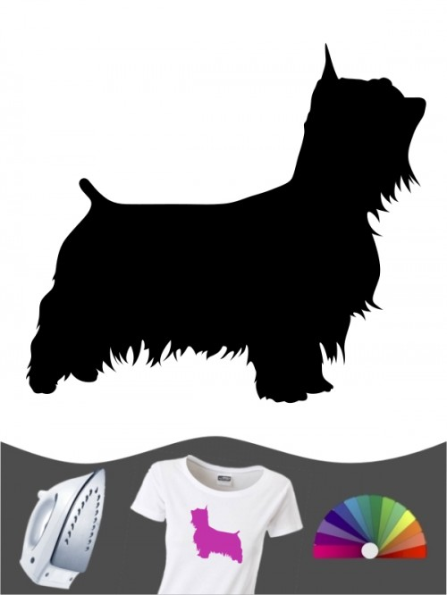 Australian Silky Terrier 1 - Bügelbild