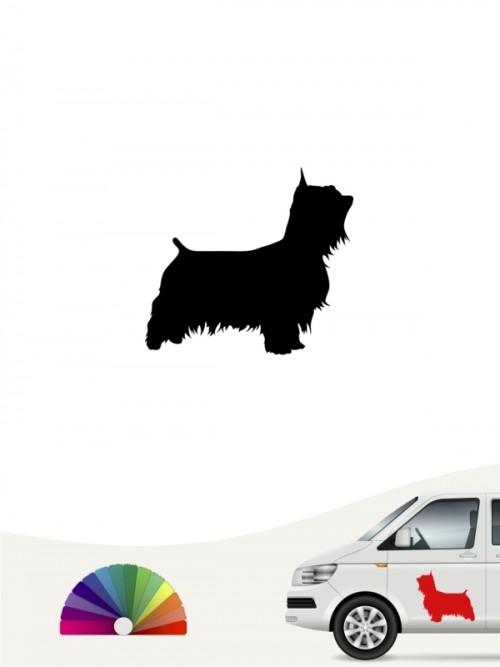 Hunde-Autoaufkleber Australian Silky Terrier 1 Mini von Anfalas.de