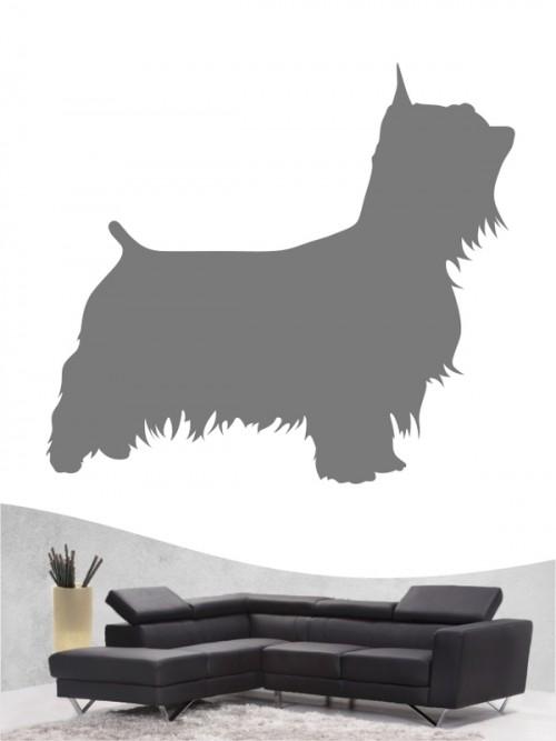 Australian Silky Terrier 1 - Wandtattoo