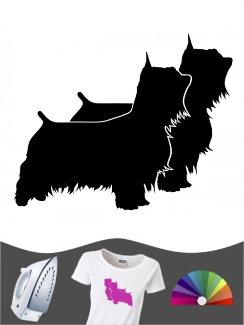 Australian Silky Terrier 2 - Bügelbild