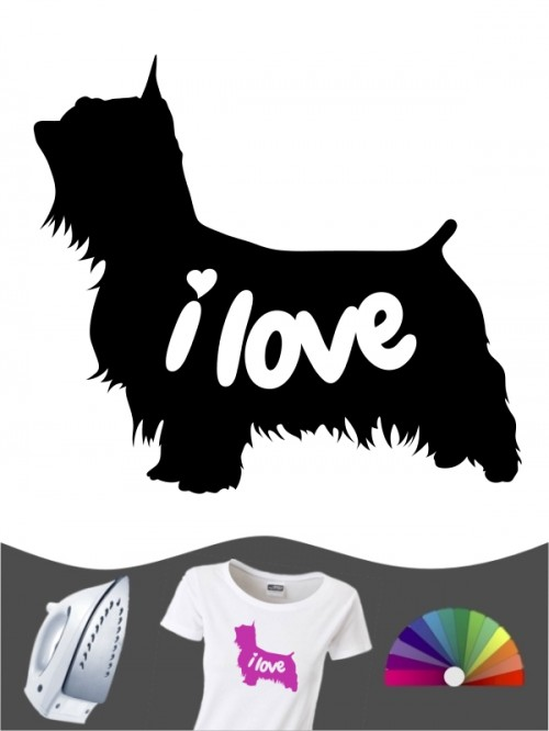 Australian Silky Terrier 43 - Bügelbild