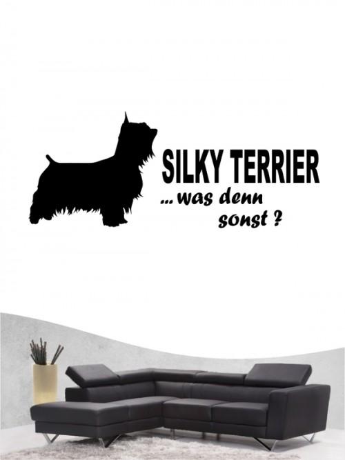 Australian Silky Terrier 7 - Wandtattoo
