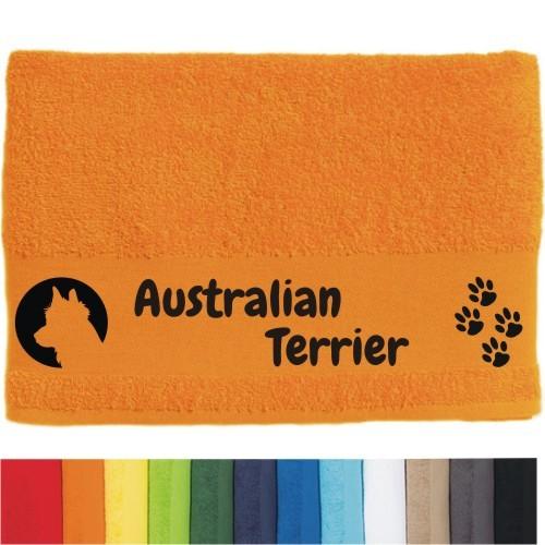 """DOG - Handtuch """"Australian Terrier"""" von anfalas.de"""