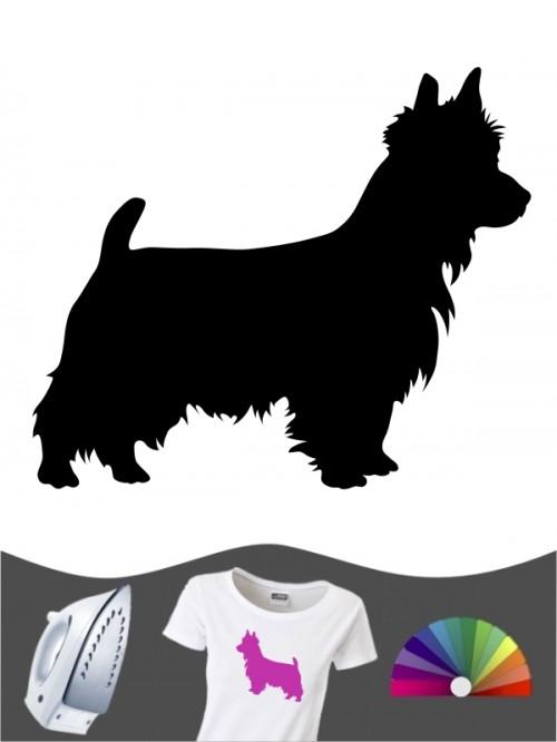 Australian Terrier 1 - Bügelbild