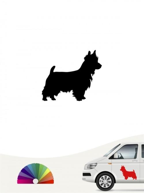 Hunde-Autoaufkleber Australian Terrier 1 Mini von Anfalas.de