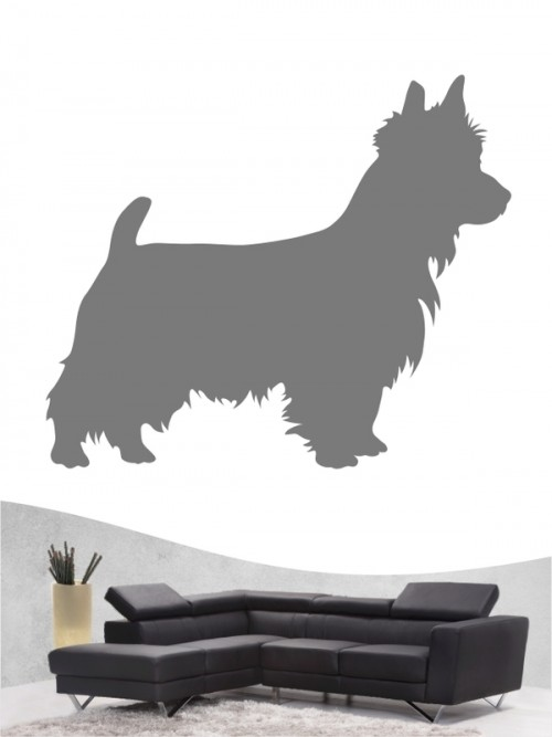 Australian Terrier 1 - Wandtattoo