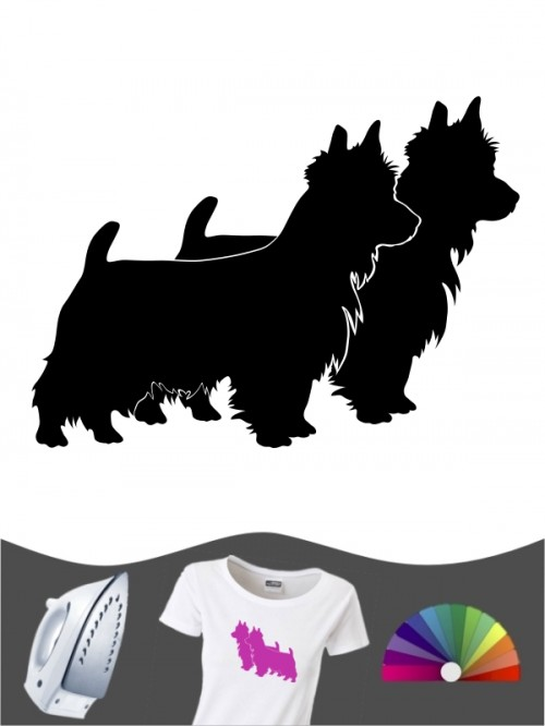Australian Terrier 2 - Bügelbild