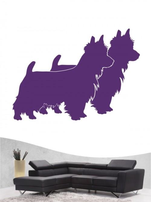 Australian Terrier 2 - Wandtattoo