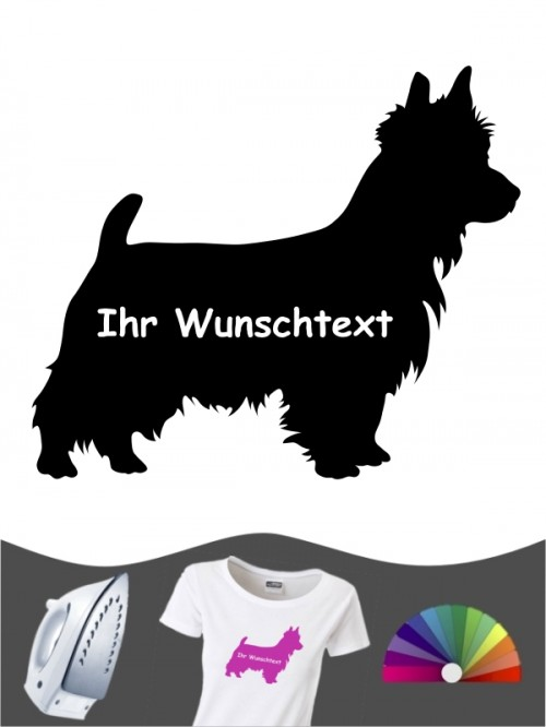 Australian Terrier 3 - Bügelbild