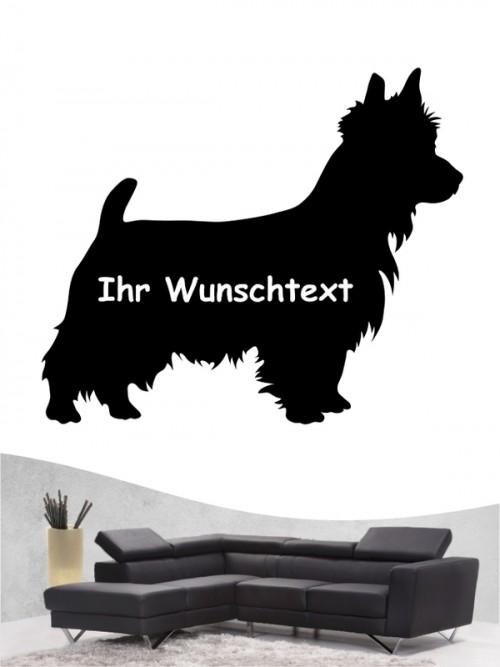 Australian Terrier 3 - Wandtattoo