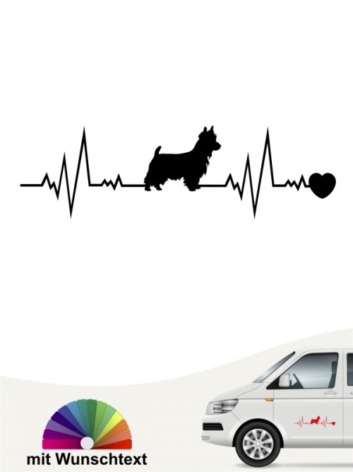 Australian Terrier mit Wunschtext von anfalas.de