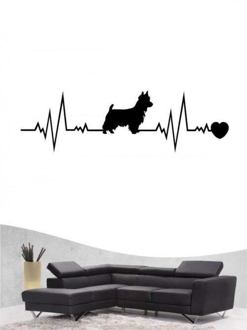 Australian Terrier 41 - Wandtattoo