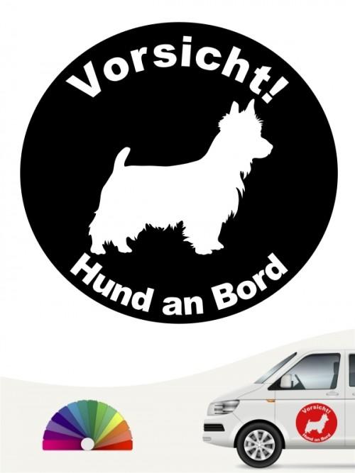 Australian Terrier Hund an Bord Aufkleber anfalas.de