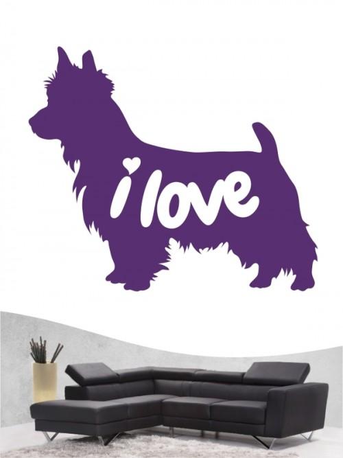 Australian Terrier 43 - Wandtattoo