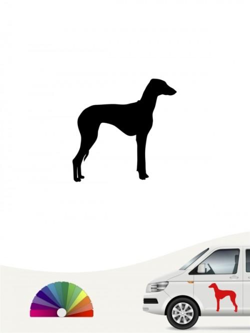 Hunde-Autoaufkleber Azawakh 1 Mini von Anfalas.de