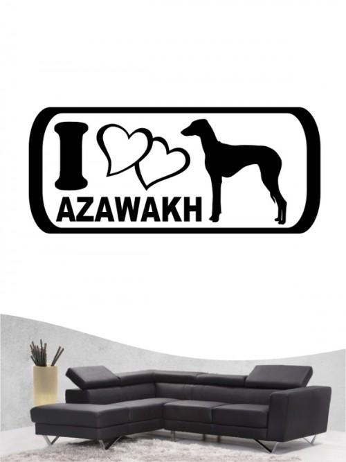 Azawakh 6 - Wandtattoo