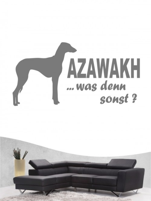 Azawakh 7 - Wandtattoo