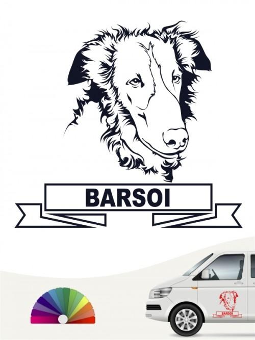 Hunde-Autoaufkleber Basoi 15 von Anfalas.de