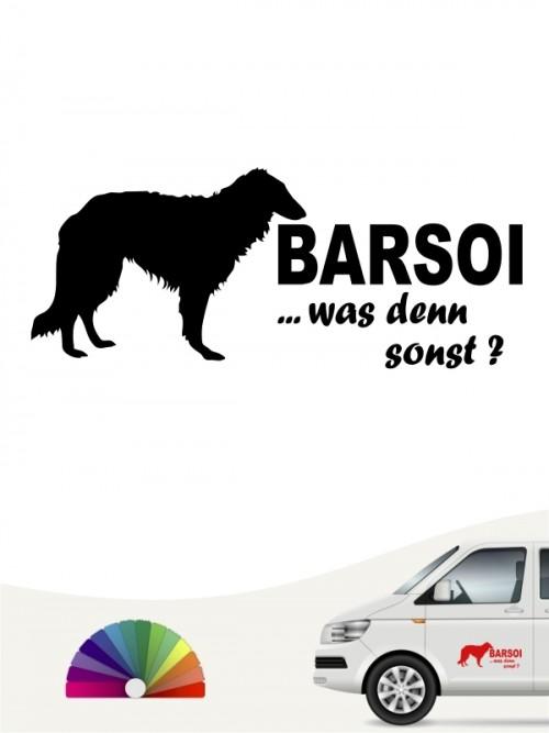Barsoi was denn sonst Autosticker anfalas.de