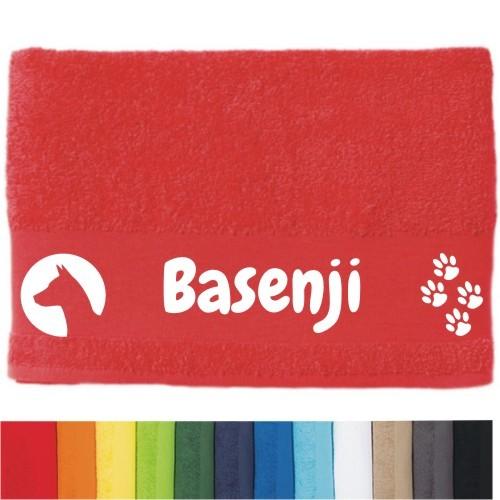 """DOG - Handtuch """"Basenji"""" von anfalas.de"""