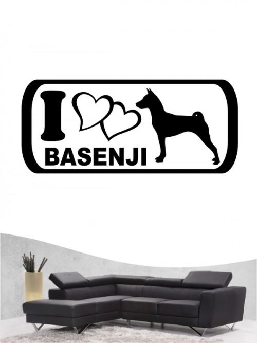 Basenji 6 - Wandtattoo