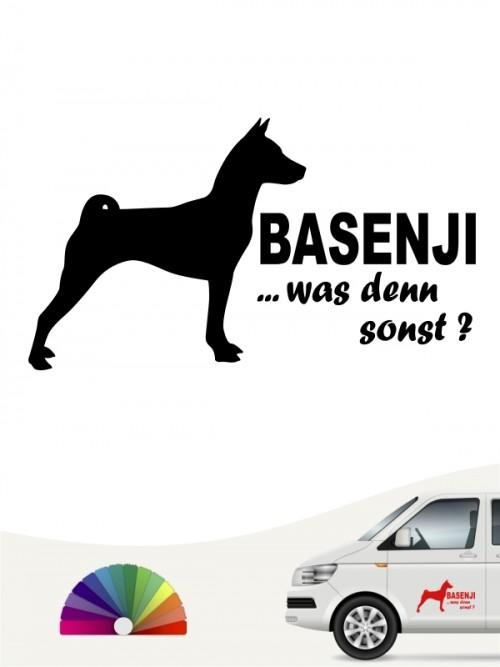Basenji Aufkleber was denn sonst anfalas.de