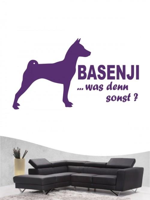 Basenji 7 - Wandtattoo