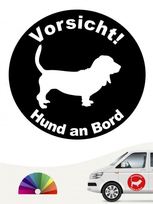 Basset Hound Aufkleber anfalas.de