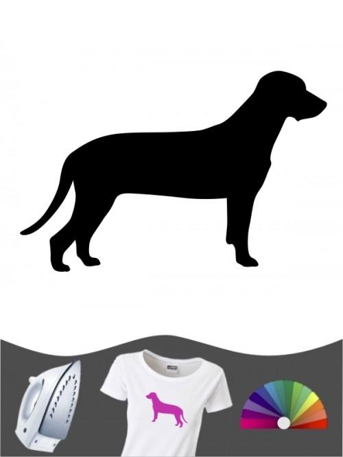 Bayerischer Gebirgsschweißhund 1 - Bügelbild